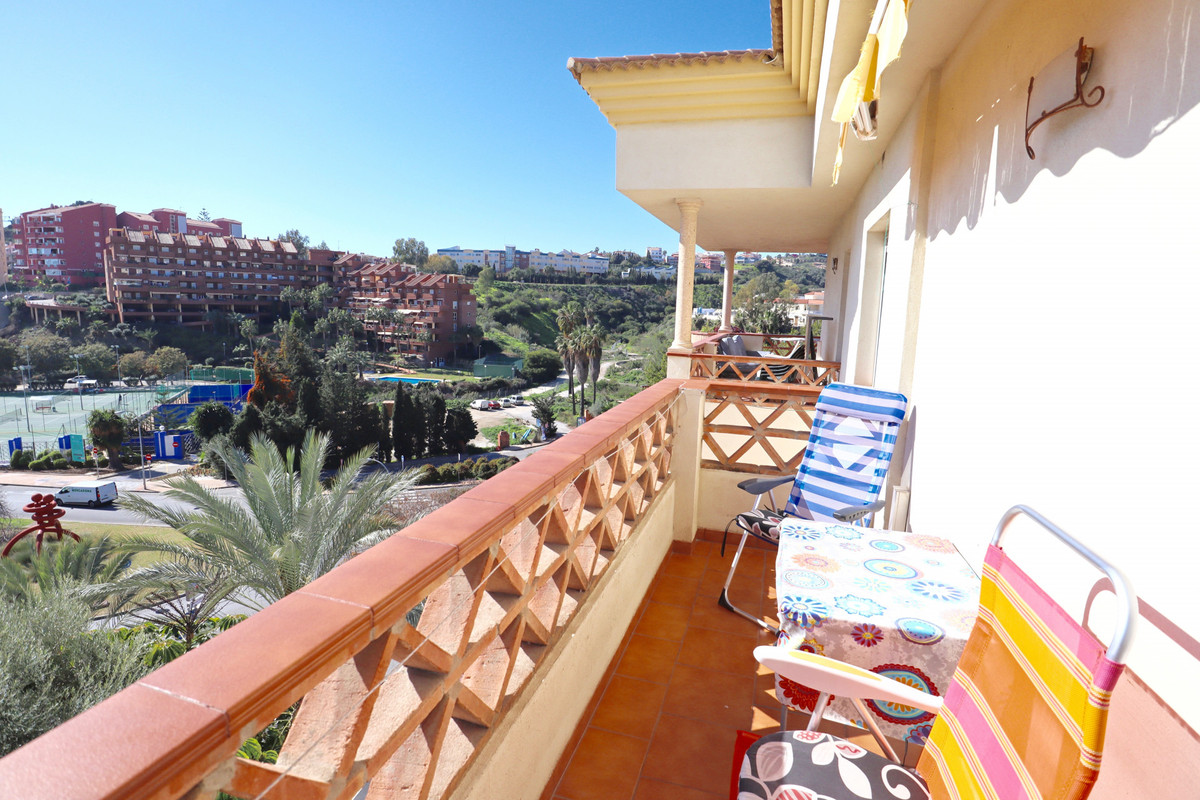This duplex penthouse has panoramic views of the sea and the mountains. It is in very good condition, Spain