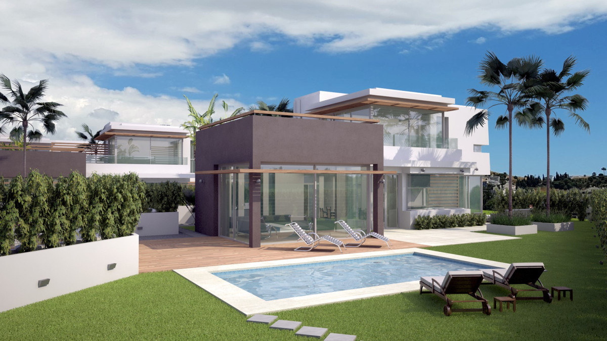 Great living Smart Investment  Twelve luxury design villas in gated community 1 km from the beach  A,Spain