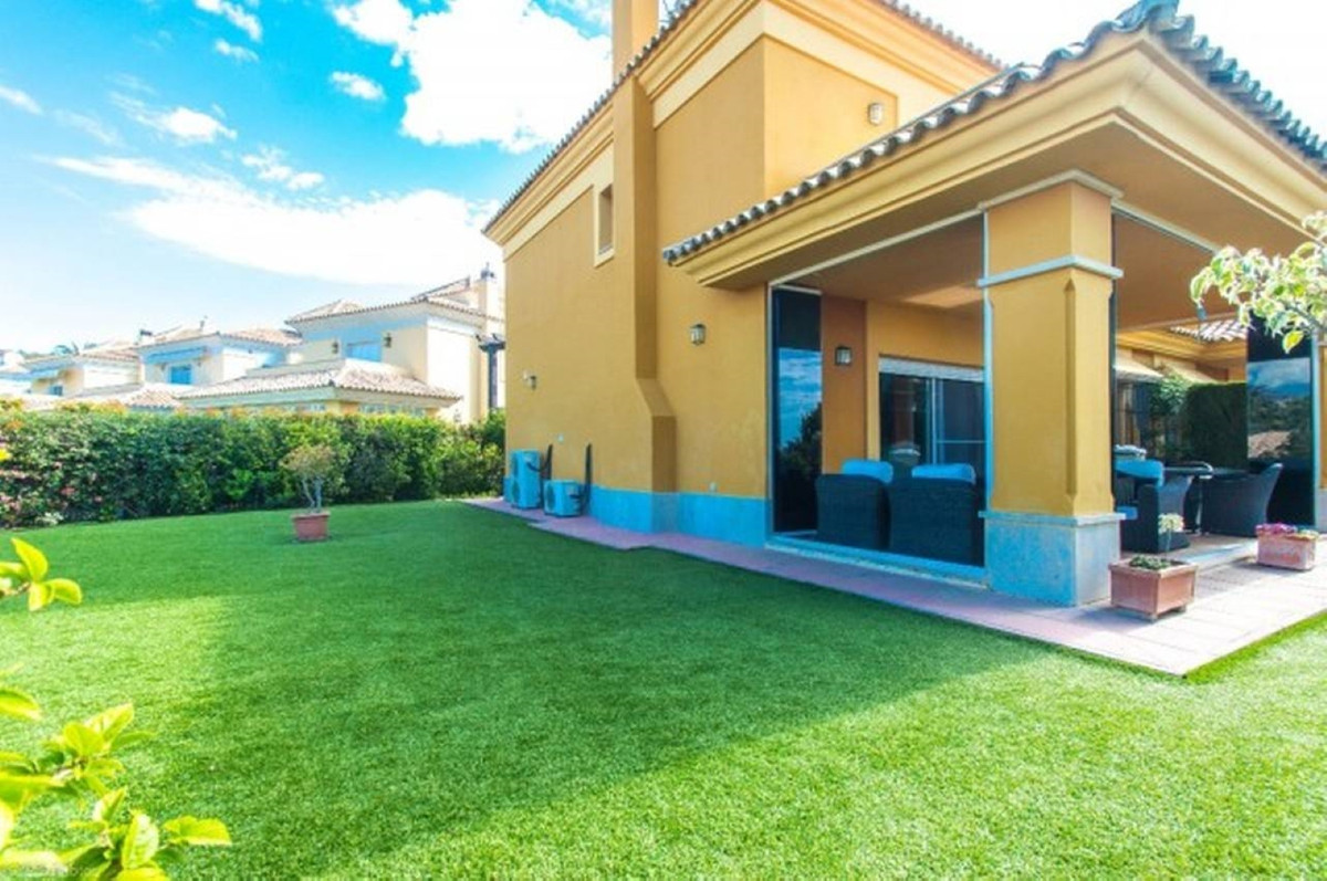 Immaculate three bedroom, south facing, golf villa with a private garden and offering fantastic golf,Spain