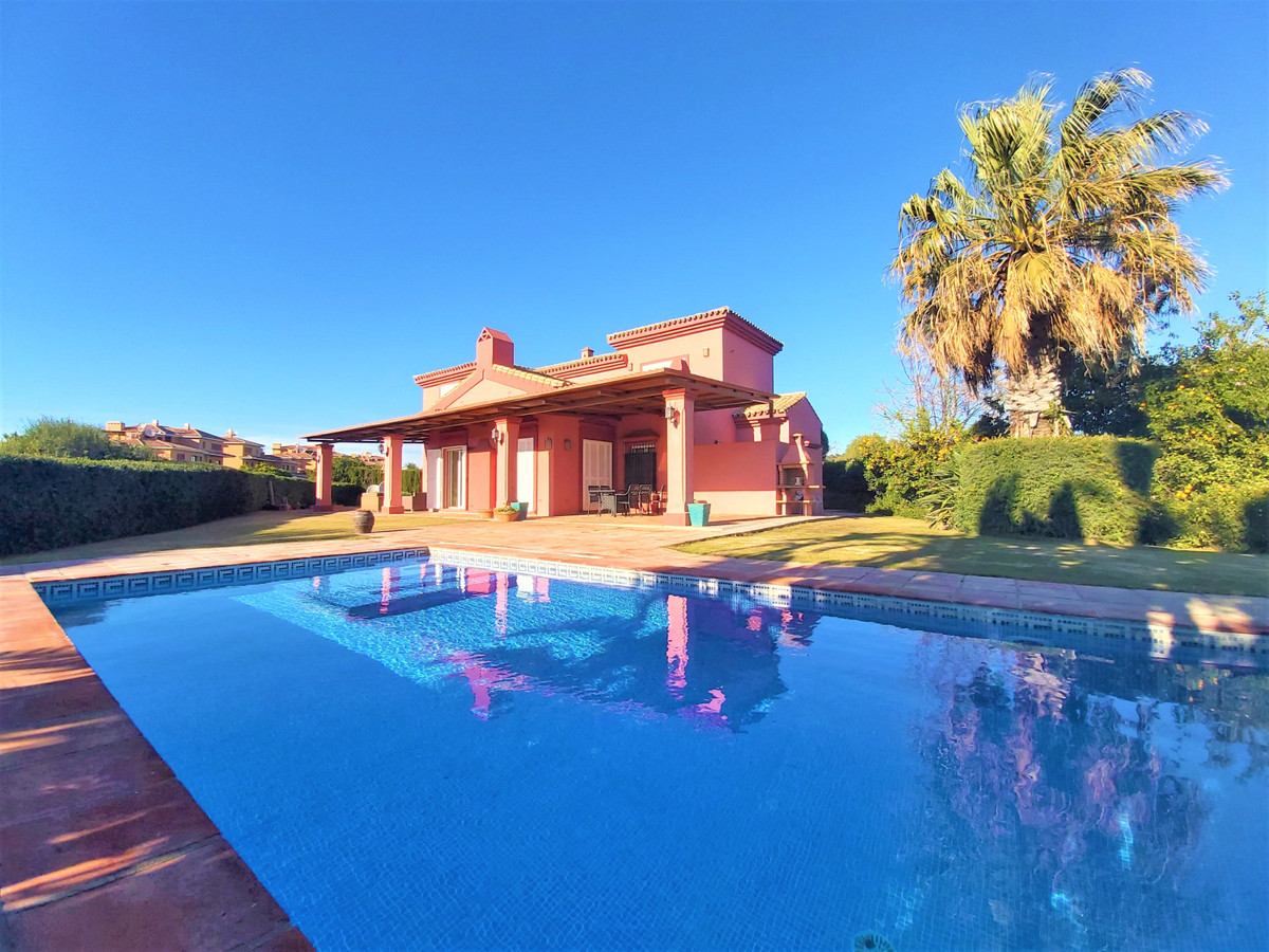 Beautiful Andalusian-style villa with 2 floors built by a renowned local builder, which offers spect,Spain