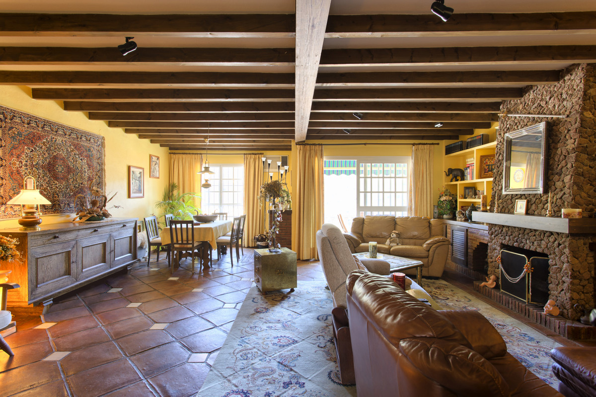 Cozy rustic style semi-detached house in the heart of Benahavis town, with wonderful mountain views.,Spain