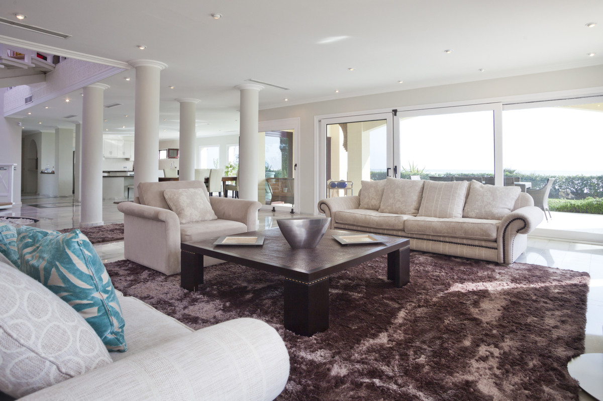 BEACH FRONT!!! This luxury property is situated in a noble and select area of villas in one of the b,Spain