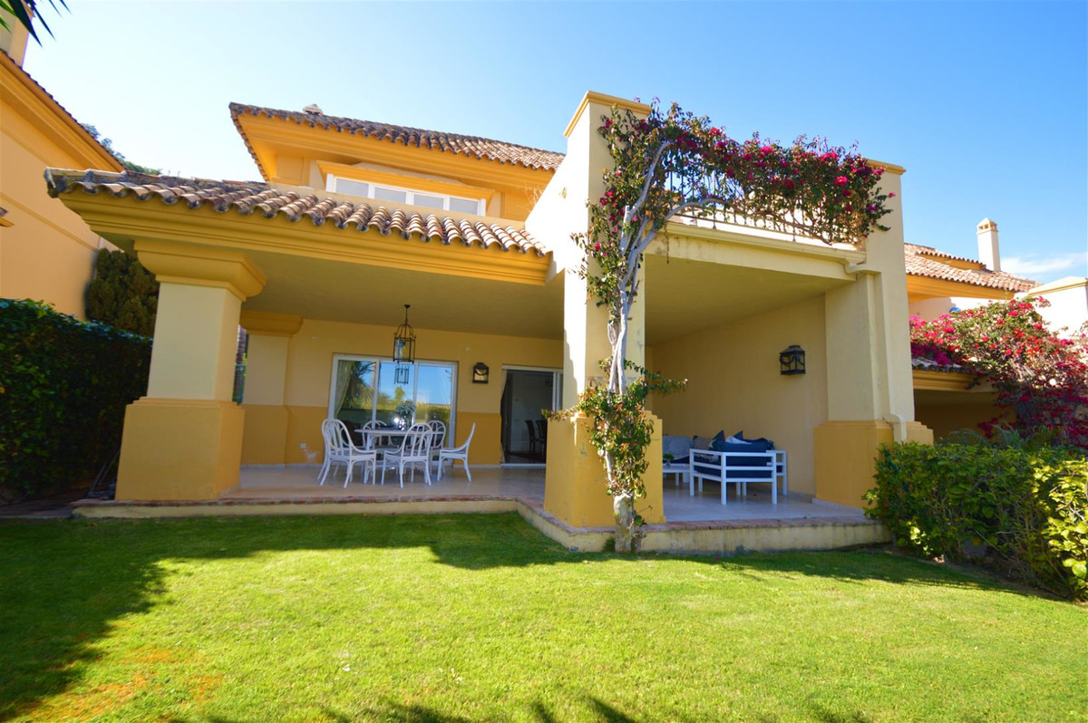Would you like to live in one of the most beautiful areas of Marbella? This superb townhouse is situ,Spain