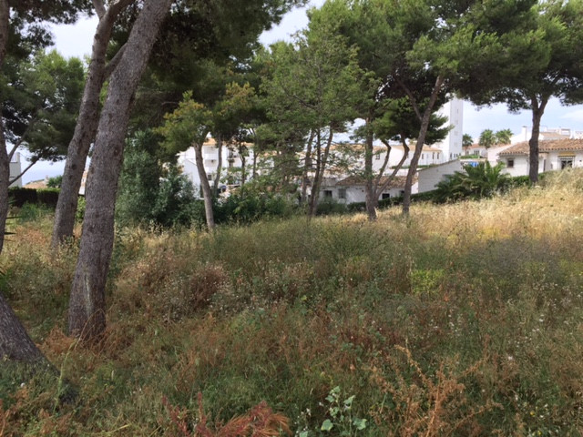 A plot of 599m2 where you can build one villa up to 209.65m2 (35%).  The villa can have a ground flo,Spain