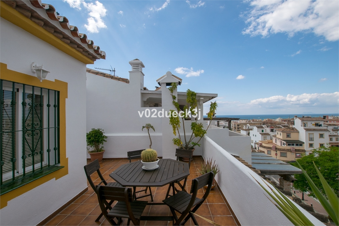Spacious townhouse in Estepona centre just a few steps from the beach and promenade, as well as all ,Spain