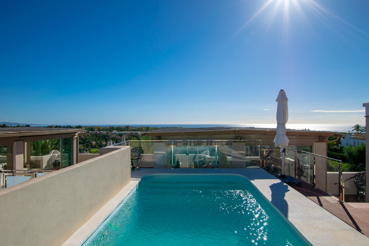 Estepona's perhaps coolest penthouse with 505 sqm of which 335 sqm is terraces, with wonderful ,Spain